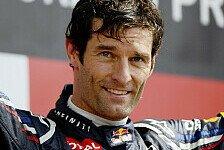 Formel 1 - Die �bliche Scharade: Webber: Sieg beeinflusste Verl�ngerung nicht