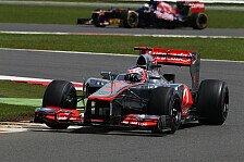 Formel 1 - Home of British Motor Racing: Video - Button hei� auf Silverstone