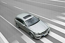 Auto - Luxusliner mit sportlichen Akzenten: Der neue CLS 63 AMG Shooting Brake im Detail