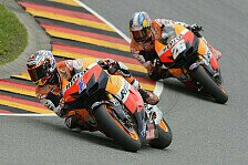 MotoGP - Test in Mugello: Neues Bike f�r Stoner und Pedrosa