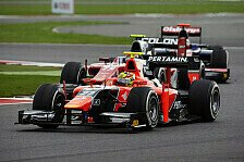 GP2 - Serenelli sorgt f�r Unterbrechung: Valsecchi dreht bereits im Training auf
