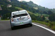 Auto - Platz eins bei der e-Silvretta: Prius Plug-in effizienter als Elektroautos