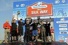 Mehr Rallyes - Ein spannendes Ende: Silk Way Rallye: Sieg f�r Gadasin und Maredeev