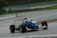 Formel 3 Cup - Schiwierige Bedingungen: Blomqvist gewinnt erstes Rennen