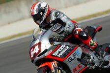 MotoGP - Daten sammeln und Strecke lernen: Pasini gl�cklich �ber Tag eins in Laguna