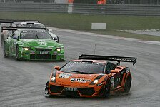 ADAC GT Masters - Leipert-Lamborghini freuen sich �ber starken Aufw�rtstrend: Leipert-Gallardo stark bei schwierigen Bedingungen