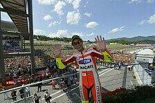 MotoGP - Video - Rossi beim Heim-Grand-Prix in Mugello: Zehntausende Fans umjubeln den Doktor