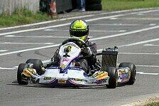 ADAC Kart Masters - Viertes Saisonrennen im badischen Liedolsheim: Erste Titel im ADAC Kart Masters vergeben