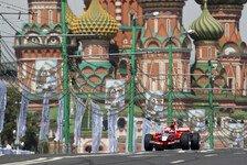 Formel 1 - Alles im Plan: Es wird kalt: Russland GP erst im November