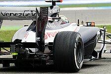Formel 1 - Regel-Update mit Nebenwirkungen : Entwicklungs-Stopp bei Williams?