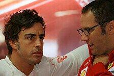 Formel 1 - Zu fr�h, um Mattiacci zu beurteilen: Alonso: Last f�r Domenicali zu gro� geworden