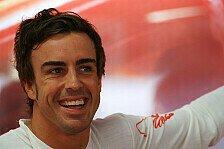 Formel 1 - Ich kenne das Spiel: Alonso: Lobeshymnen haben keinen Einfluss