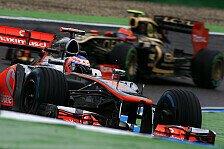 Formel 1 - Im Rennen Richtung Podium: Button: Positive Signale mit viel Sprit
