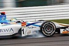 GP2 - Perfekte Strategie beim halben Heimspiel: Cecotto mit richtiger Reifenwahl zum Sieg