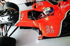 Formel 1 - Eher HRT im Nacken als Caterham vor der Brust: Glock: Wo ist der Top-Speed hin?