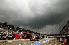 Formel 1 - Kommt der Regen?: Wetterprognose f�r den Deutschland GP