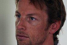 Formel 1 - 90 Prozent des Feldes k�nnen nicht irren: Button zweifelt McLaren-Nase an