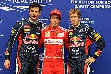 Formel 1 - Bilderserie: Top-10 Aufholjagden zweite Saisonh�lfte
