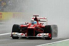 Formel 1 - 1,5 Sekunden gefunden: Wetter hat Ferrari geholfen