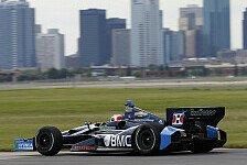 IndyCar - Barrichello �berraschend Zweiter: Dixon in Edmonton-Warm-Up voran