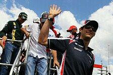 Formel 1 - Sto�gebet vor dem Start: Video: Senna erkl�rt die Rennvorbereitung