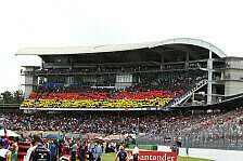 Formel 1 - Viel los in Hockenheim: Deutschland GP: Das Programm des Wochenendes