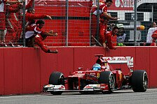 Formel 1 - Ferrari macht sich keine Illusionen