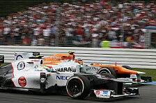 Formel 1 - Sauber oder doch Force India?: Alguersuari: Renncockpit f�r 2013 fix