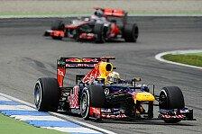 Formel 1 - Wenn nicht Erster, dann Zweiter: McLaren h�lt Red Bull f�r einholbar