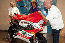 MotoGP - Ein Traum wurde wahr: Simoncellis Gilera geht an die Stiftung