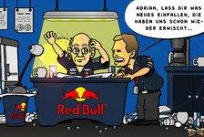 Formel 1 - Schlupfl�cher & Geniestreiche : Neuer Comic: FIA vs. Newey