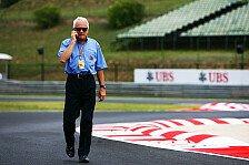 Formel 1 - Vier Abk�rzungsm�glichkeiten: Abk�rzen: Whiting k�ndigt Strafen an