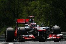 Formel 1 - Au�ergew�hnlicher Lauf an Regen: Whitmarsh w�nscht sich Trockenheit