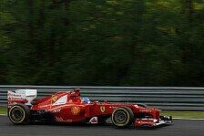 Formel 1 - Regen behinderte Massas Reifenarbeit: Ferrari: Alonso mit gew�hnlichem Freitag