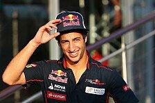 Formel 1 - Kein Problem, sich zu gedulden: Ricciardo plant mit Toro Rosso