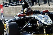GP3 - Nur vier Runden Action: Abbruch-Sieg f�r Abt