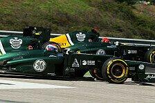 Formel 1 - Viele Experimente beim Auspuff: 2013er-Caterham auf 2012er-Basis