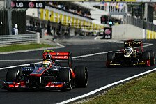 Formel 1 - Bilderserie: Ungarn GP - Fahrer-Analyse
