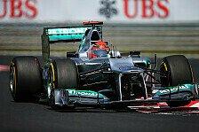 Formel 1 - An der falschen Stelle gehalten?: Schumacher-Fehler l�ste Startabbruch aus