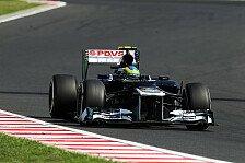Formel 1 - Sehr zufrieden: Senna erhielt Lob von Frank Williams