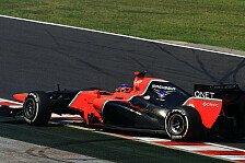 Formel 1 - Ziel ist eine gute Basis f�r 2013 : Kontinuierliche Fortschritte bei Marussia