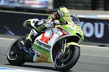 MotoGP - Arbeit bis zur letzten Minute: Elias k�mpfte mit dem Heck