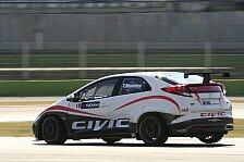 WTCC - Signifikante Fortschritte erzielt: Honda beendet weiteren Test