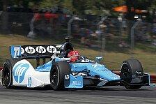 IndyCar - Die Jungs haben das wunderbar gemacht: Pagenaud vor Rookie-Titel