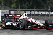 IndyCar - Ein hartes Qualifying: Power startet in Ohio von der Pole