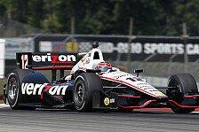 IndyCar - Ein hartes Qualifying: Power startet in Ohio von der Pole