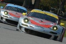 USCC - Wenige Zehntel fehlten: Porsche verpasst knapp zweiten Saisonsieg