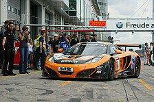 VLN - Erneuter Ausfall f�r den McLaren: D�rr Motorsport: Fortschritte bleiben unbezahlt