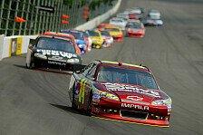 NASCAR - Kasey Kahne trotz Plattfu� Zweiter: Jeff Gordon gewinnt nach Regenabbruch