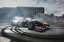 Formel 1 - Coulthard sitzt hinterm Steuer: Red Bull f�hrt Showrun in Santiago de Chile